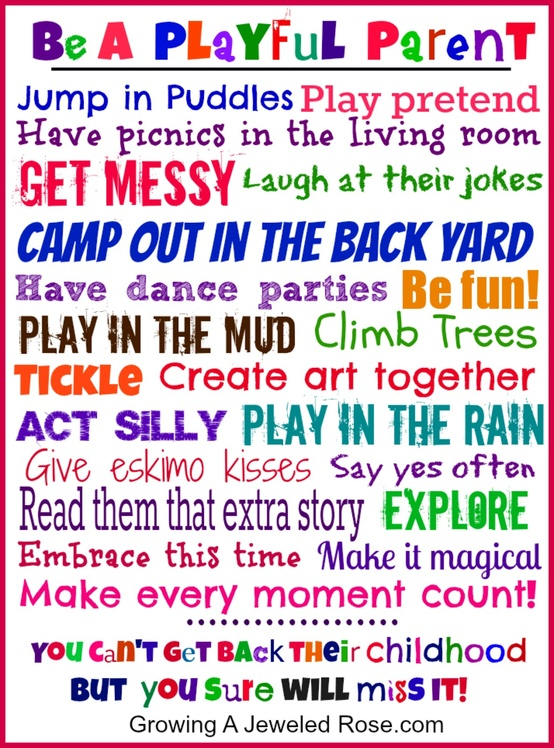 remember play is children s work