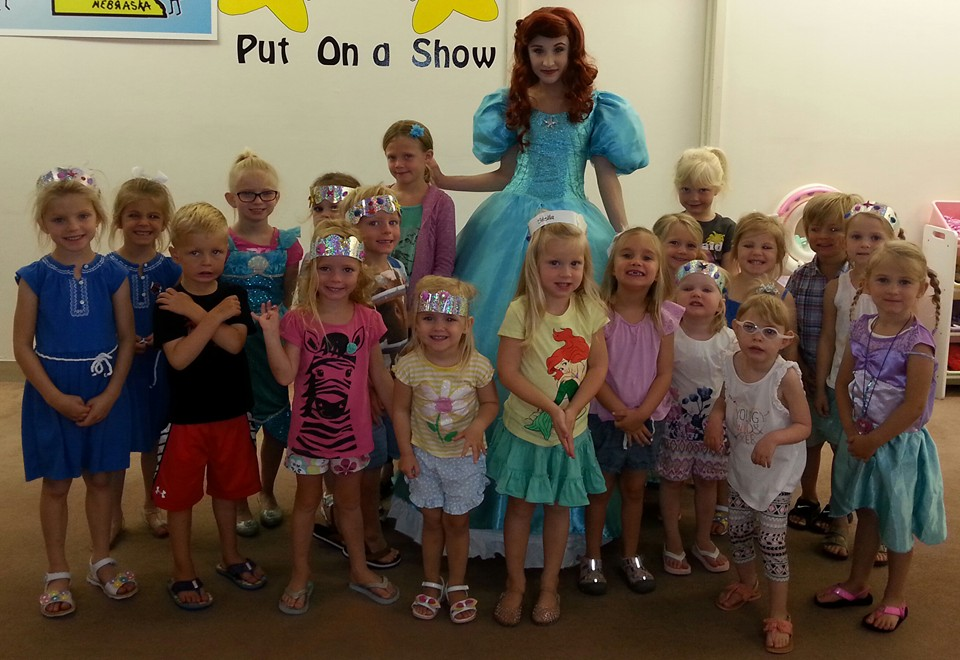 MERMAIDS & SEASHELLS CAMP...Ariel visited us!!