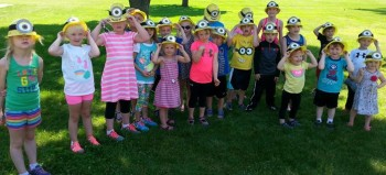Minion hat fun!!