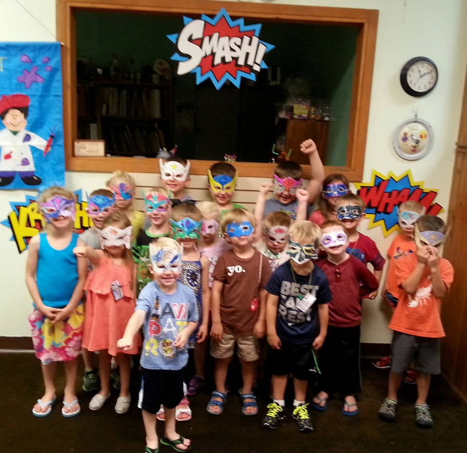 SUPER HERO SCIENTISTS!